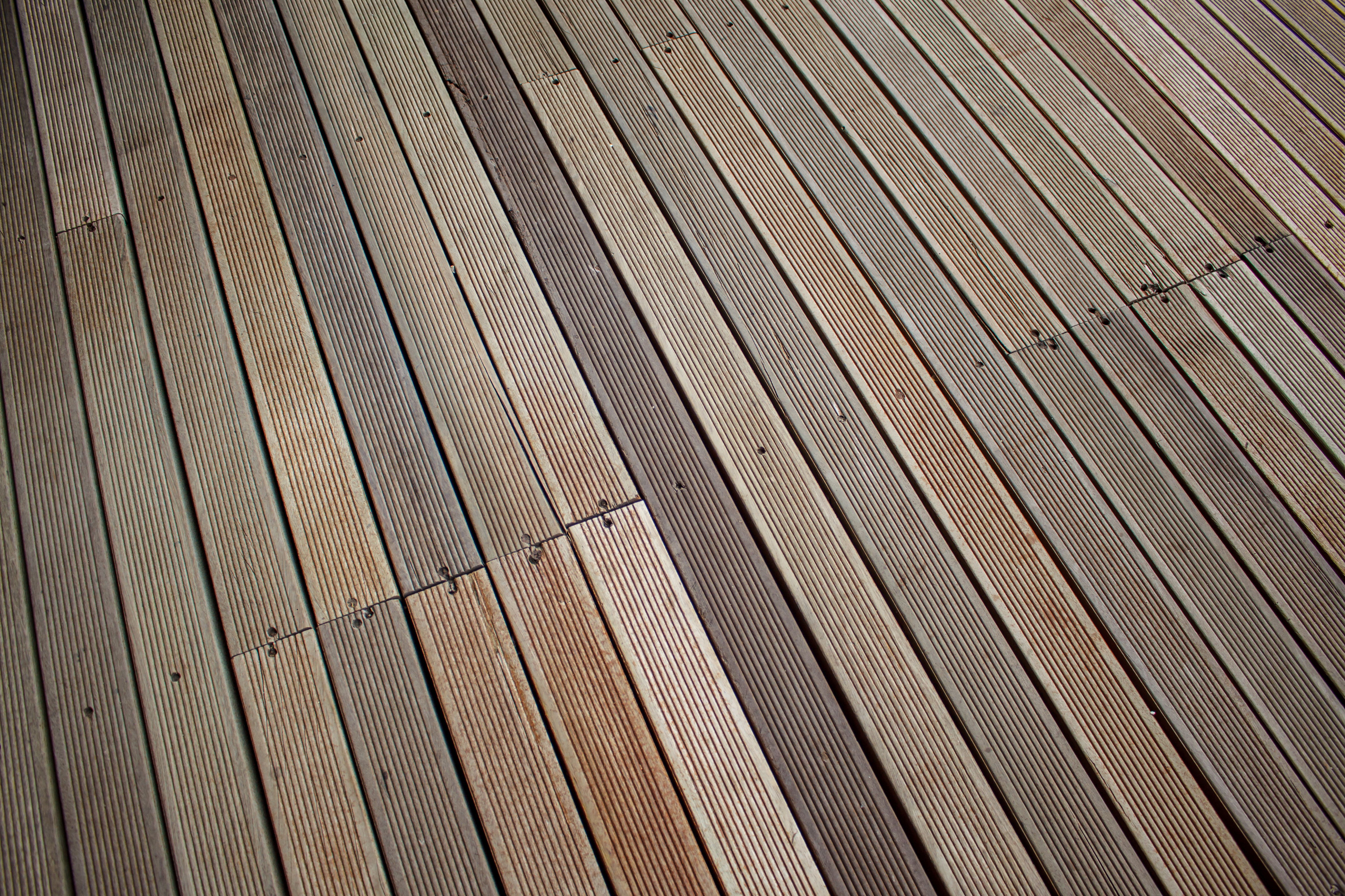 Deck replacement, wood deck